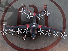 美国Joby公司设计的多旋翼电动垂直起降飞机