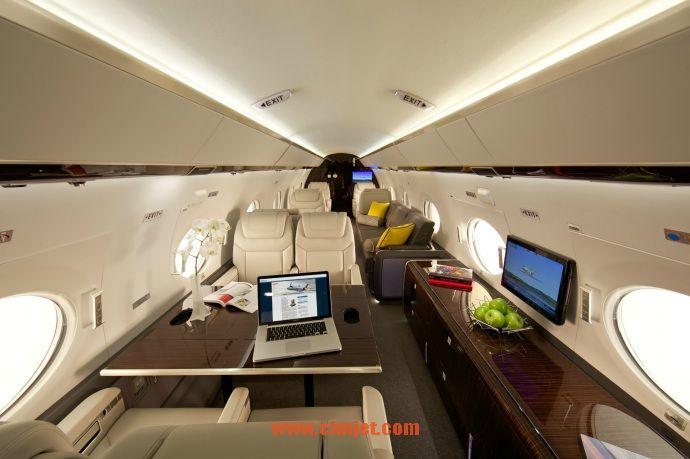 湾流g650er:全球航程最远的商用喷气机