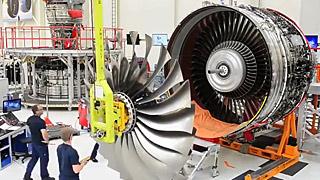 罗尔斯罗伊斯Trent XWB发动机组装过程