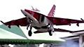 红色版Yak-130在RusJet Masters 2013上的飞行表演