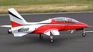 [JetPower2016]超大毒蛇VIPER JET涡喷模型飞机飞行表演