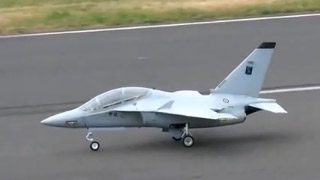 [JetPower2016]M-346涡喷模型飞机飞行表演
