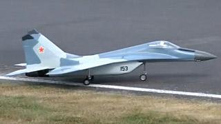 [JetPower2016]MIG-29涡喷模型飞机飞行表演