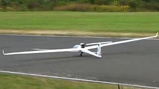 [JetPower2016]ANTARES 18涡喷滑翔机飞行表演