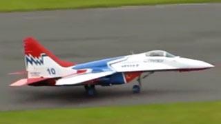 [JWM2017]MIG-29涡喷模型飞机比赛