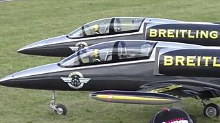 [JetPower2017]Breitling L-39双机飞行表演