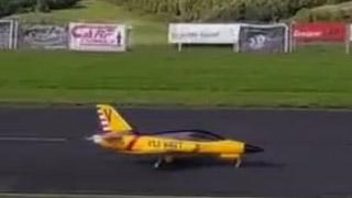 [JetPower2017]ACE涡喷模型飞机表演秀