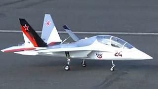 [JetPower2017]SU-54涡喷模型飞机飞行表演