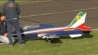 [JetPower2017]M-339涡喷模型飞机飞行表演