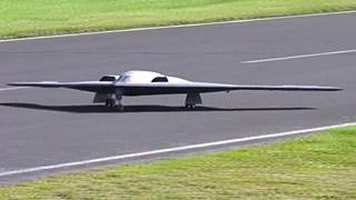 [JetPower2017]B-2涡喷模型飞机飞行表演