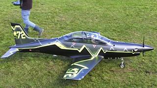 [JetPower2017]Pilatus PC 21涡桨模型飞机飞行表演