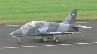 [JetPower2017]Hawk涡喷模型飞机飞行表演