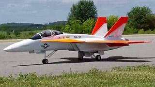 [JOK2018]F18涡喷模型飞机飞行表演