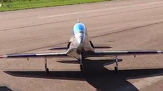 [JetPower2018]Leonardo涡喷模型飞机飞行表演