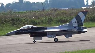 [JetPower2018]F-16涡喷模型飞机飞行表演