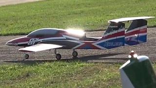 [JetPower2018]JSM Xcalibur Plus涡喷模型飞机飞行表演