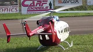 [JetPower2018]Eurocopter EC145涡喷直升机飞行表演