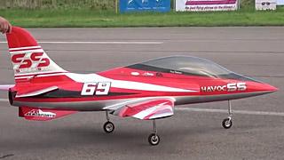 [JetPower2018]Havoc SS涡喷模型飞机飞行表演