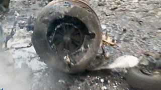 涡喷模型飞机坠毁全纪录