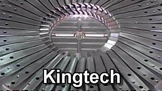 Kingtech商用引擎涡轮叶片一体成型模具
