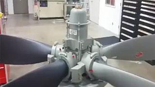 螺旋桨的螺距变化,从顺桨到反桨
