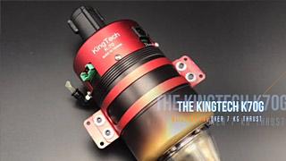 全新KingTech K70G涡喷发动机
