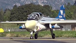 A-6 Intruder涡喷模型飞机飞行表演