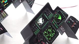 模型飞机座舱显示器套件