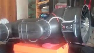 Skymaster鹞的发动机喷口偏转角度测试