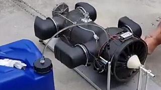 飞马发动机地面测试
