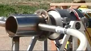 为创造速度记录的超音速微型无人机