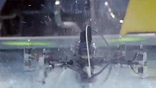 可以在空中和水中飞行的无人机