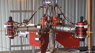 涡喷多轴无人机
