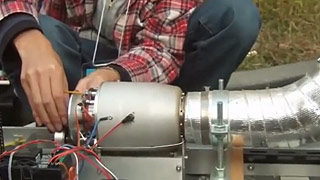 涡喷模型小火车